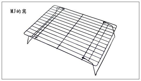 折疊單層冷卻架 餅乾冷卻架 蛋糕冷卻架 麵包冷卻架 (另可組裝成三層)~MJ的窩~
