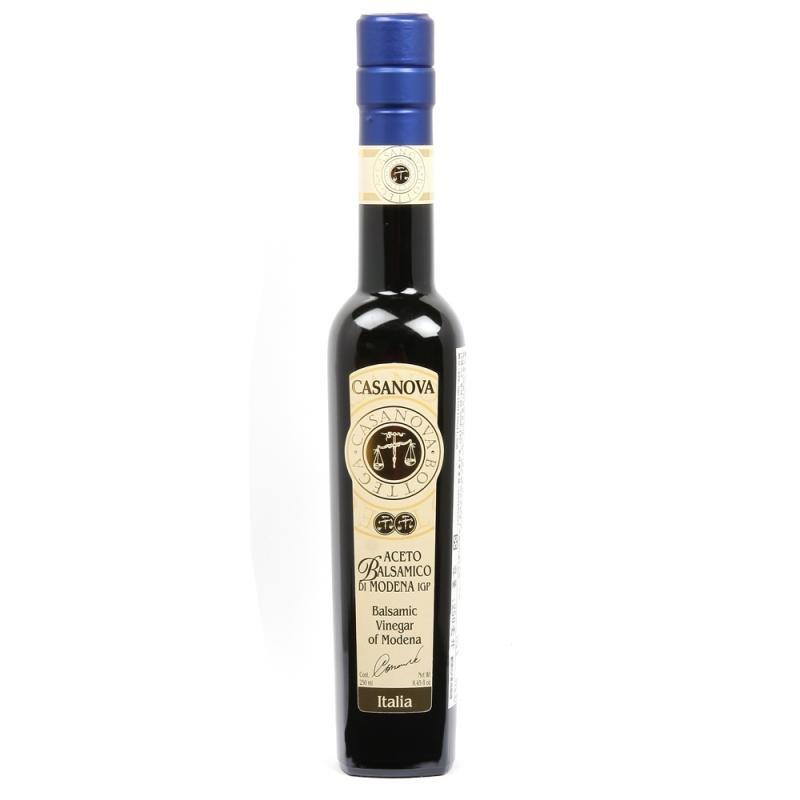 義大利摩德納卡薩諾瓦[CASANOVA]巴薩米克IGP陳年葡萄醋250ml-4年買4瓶@才560(團購請私訊)