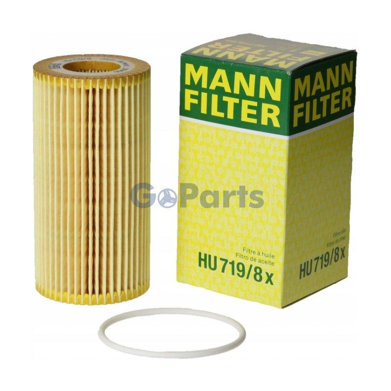 MANN HU719/8x 機油芯 Volvo C30 S40 V50 XC70 V40 XC60 S80 XC90