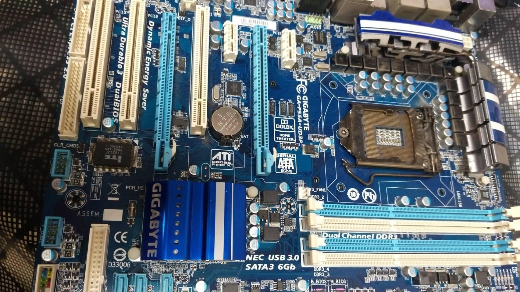 【玉昇電腦】 技嘉 GA-P55 A-UD3P 1156  DDR3主機板