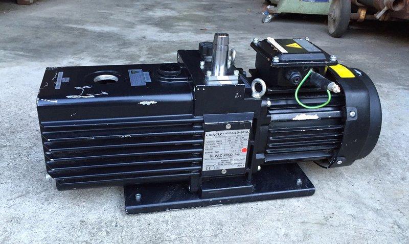 日本ULVAC GLD-201A(1HP三相220V)二段式油式真空幫浦/真空機-冷凍空調抽真空、真空脫泡機可用