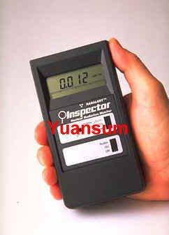 提供「Inspector 輻射偵測器」出租服務--操作簡易 液晶數值顯示 居家環境測量好工具