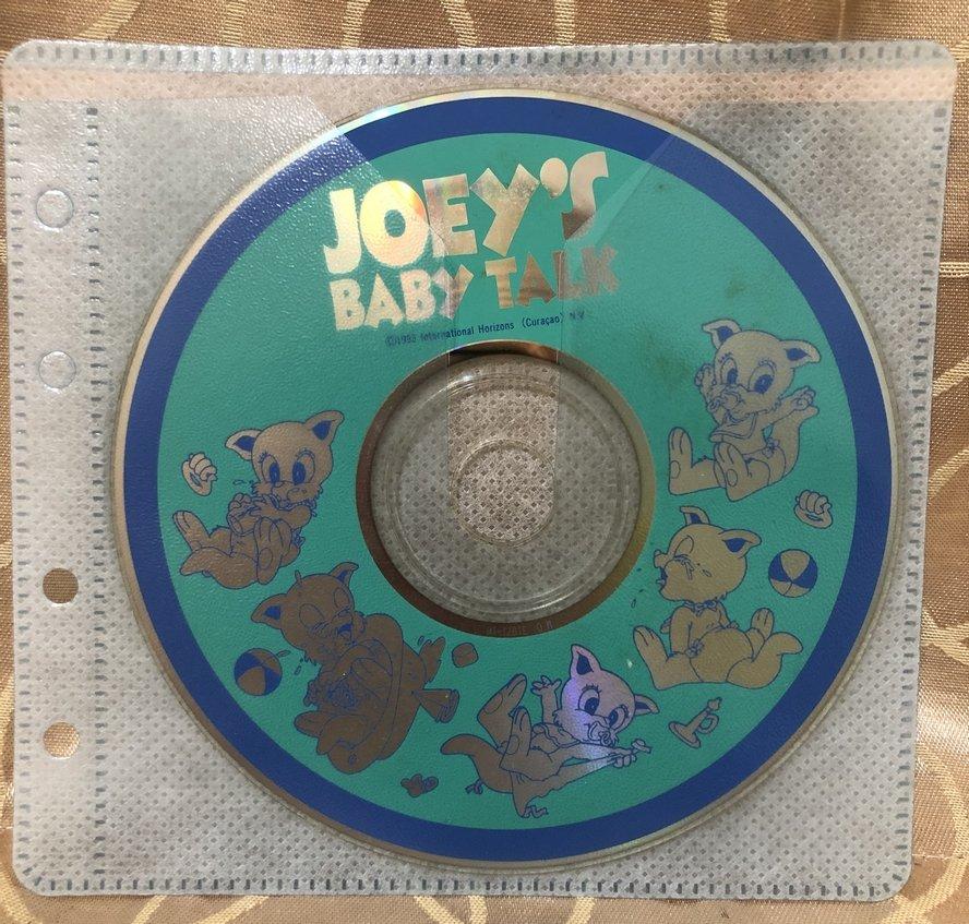 寰宇迪士尼美語世界 Joeys Baby Talk CD 寰宇家庭 Disneys World of English
