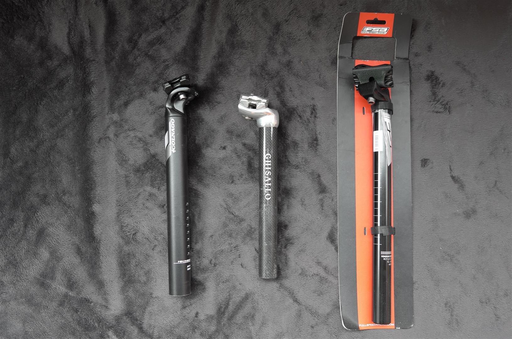 Colnago 31.6 鋁 / FSA Gossamer SL-282 鋁 / Ghisallo 27.2 碳纖 座管