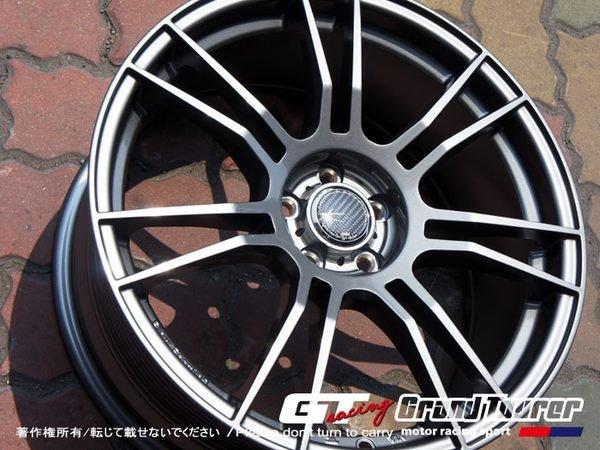 德朋國際 / 日本 Racing Tek-RF02  旋壓鑄造 輕量化成型 僅8.1kg 類OZ式樣高質感鋁圈 18吋