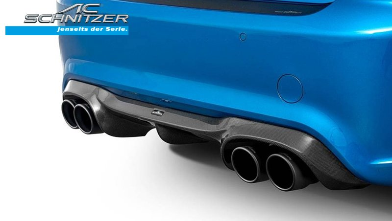 【樂駒】AC Schnitzer BMW F87 M2 Competition Carbon 碳纖維 下擾流 空力 套件