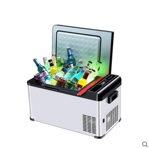 【興達生活】Coolbox壓縮機小冰箱車載車家兩用宿舍大容量冷藏冷凍可結冰60升`31555