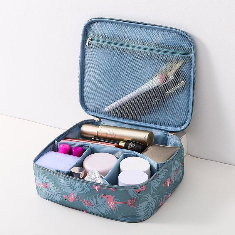 Ordinary shopins網紅化妝包小號便攜韓國簡約大容量旅行隨身少女心品袋收納盒 彩妝用具 小仙女