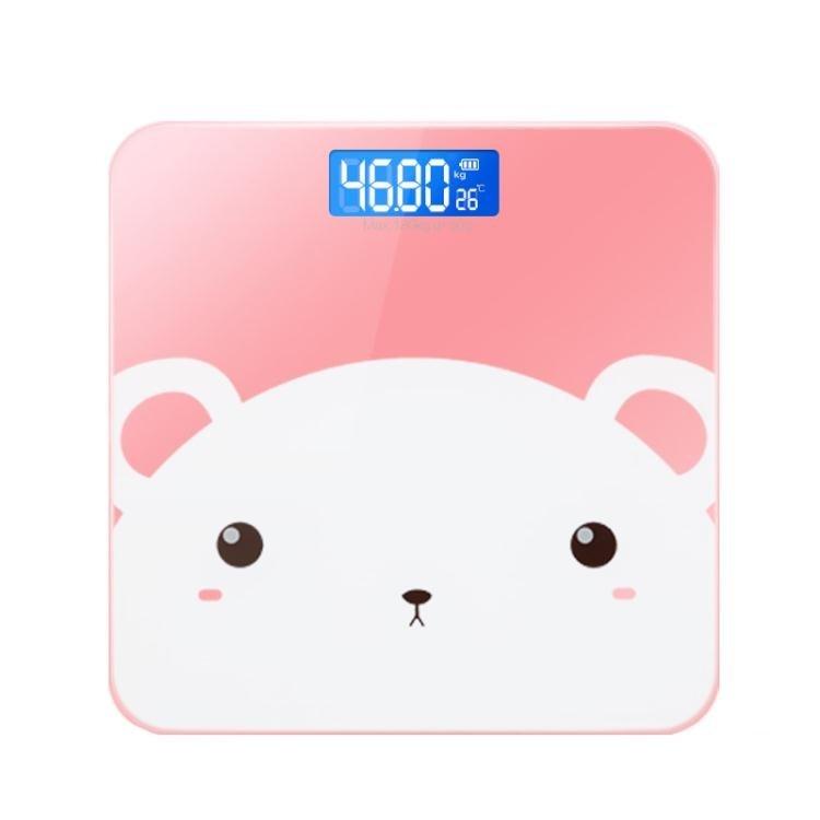 體重計 電子稱體重秤家用人體秤成人卡通女生宿舍精準小巧計器便攜式XBD