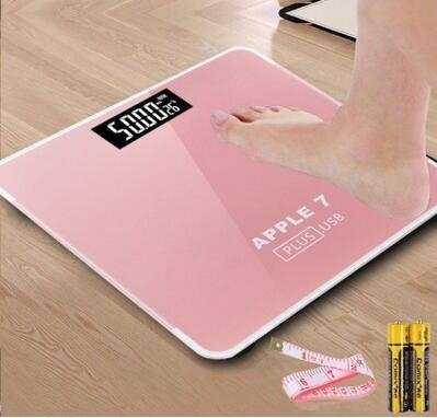 體重計 usb可充電電子稱體重秤女家用成人健康精準人體秤稱重計器XBD
