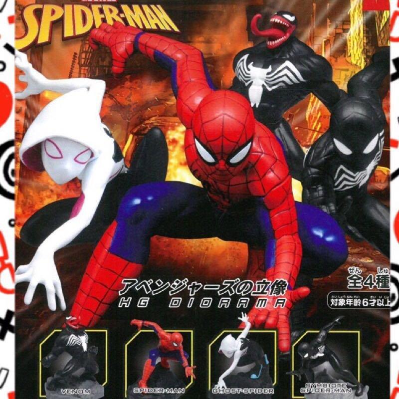 漫威 MARVEL 系列 蜘蛛人Spider-Man 扭蛋公仔 轉蛋