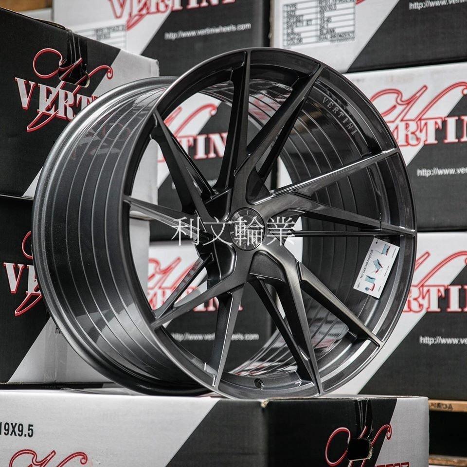 利文輪業 VERTINI RFS1.9 19吋旋壓鋁圈 5孔112 5孔114 5孔120 5孔108 輕量化 旋壓