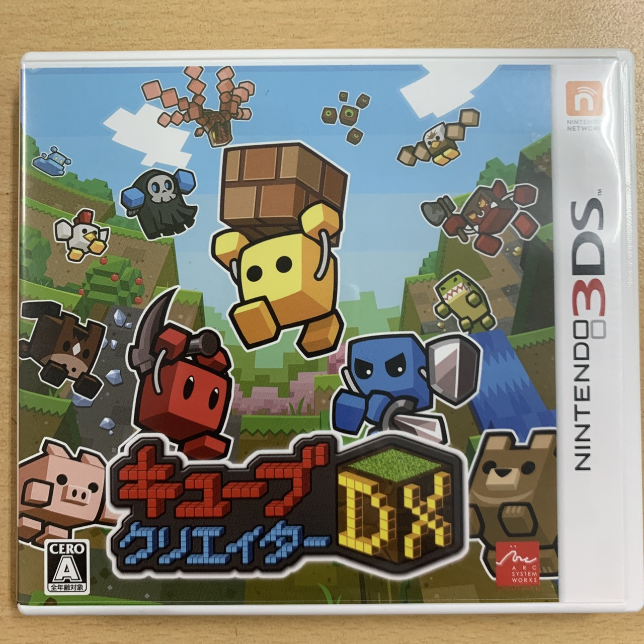 【飛力屋】現貨不必等 可刷卡 日版 任天堂 3DS 方塊創造者 DX 日規 純日版