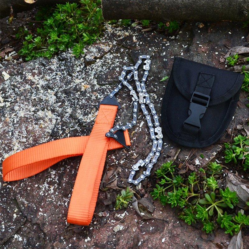 ☆露露營☆戶外野營露營手拉鍊鋸便攜式鋸子求生工具 修枝鋸多 線鋸口袋鋸