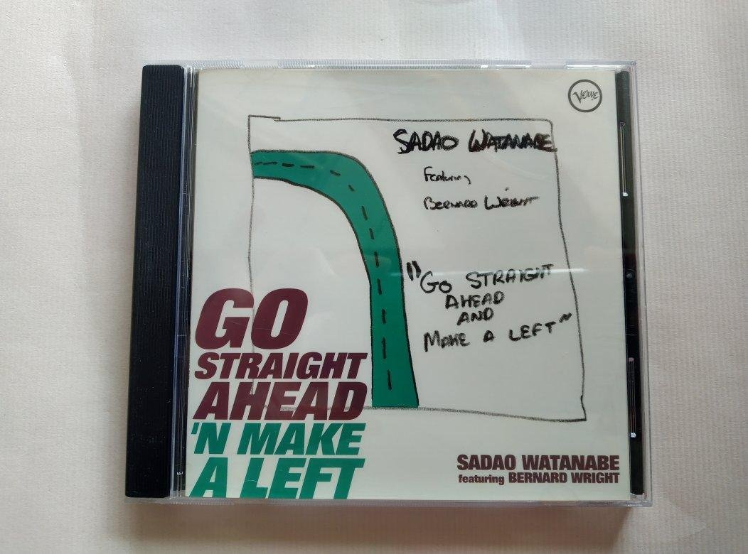 【鳳姐嚴選二手唱片】 SADAO WATANABE / GO STRAIGHT AHEAD N MAKE A LEFT
