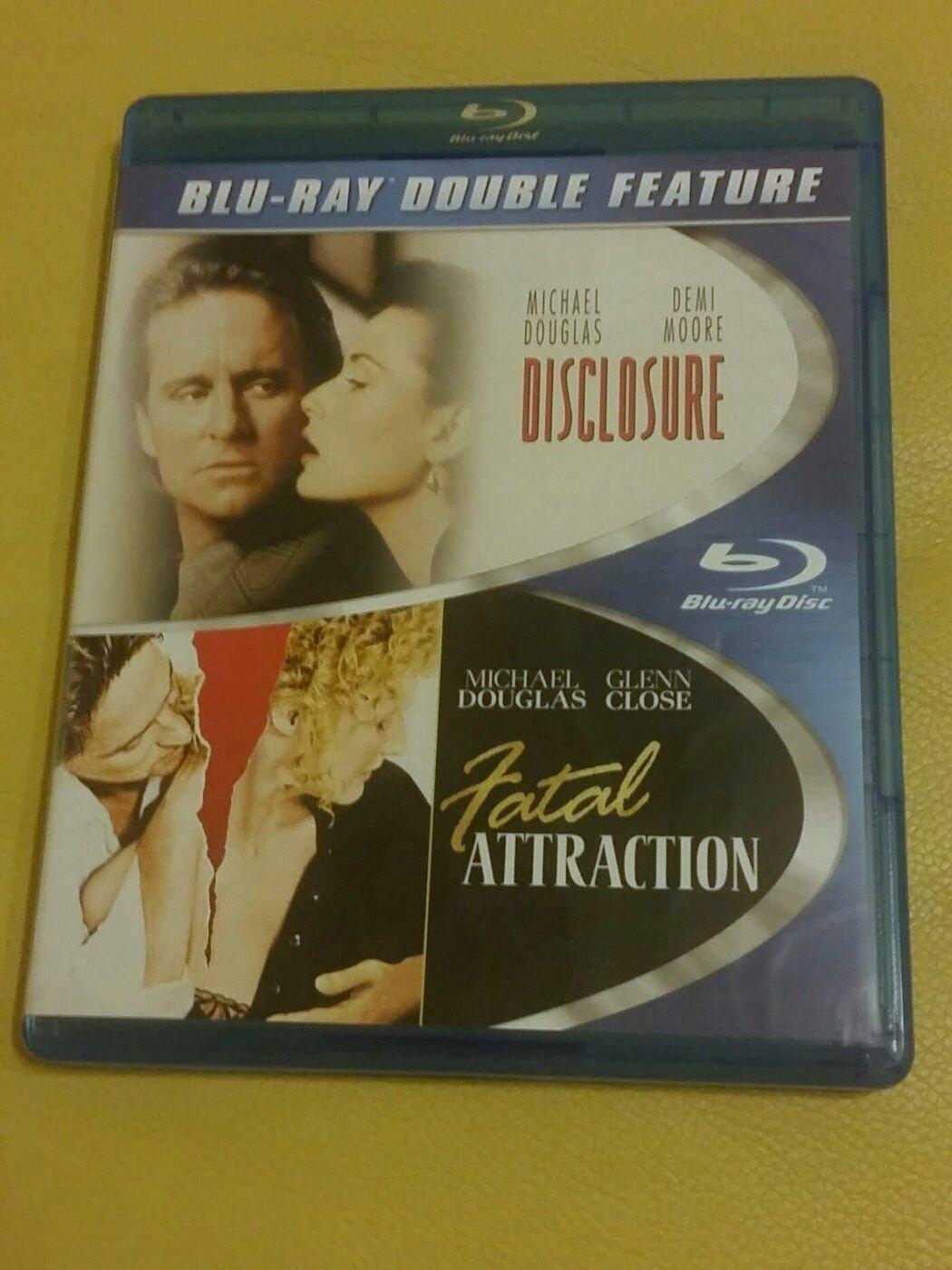 (全新僅拆,美版藍光雙碟2BD) 桃色機密Disclosure + 致命的吸引力Fatal Attraction