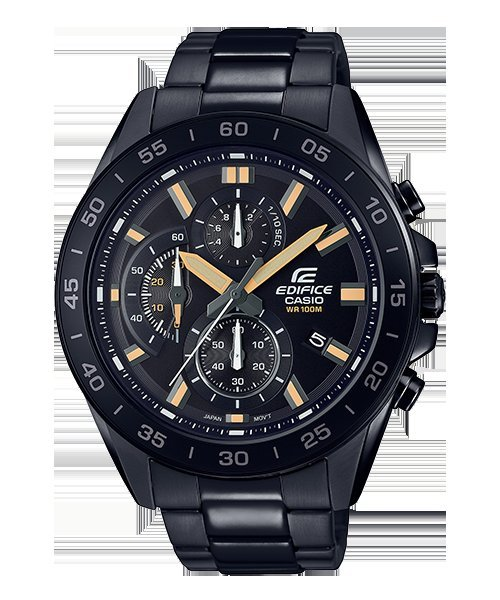 CASIO手錶公司貨附發票 EDIFICE三針三眼設計EFV-550DC-1A 賽車錶 EFV -550