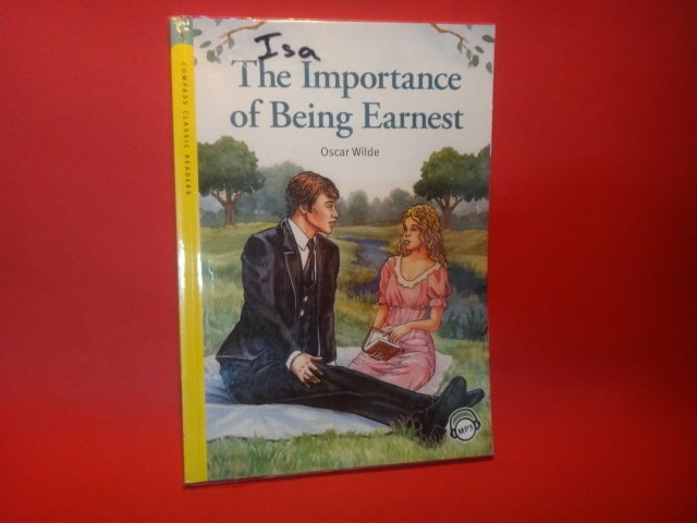 【愛悅二手書坊 02-34】The Importance of Being Earnest 無MP3