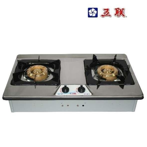 【工匠家居 館 】五聯WG-3602AS 雙銅不鏽鋼檯面爐