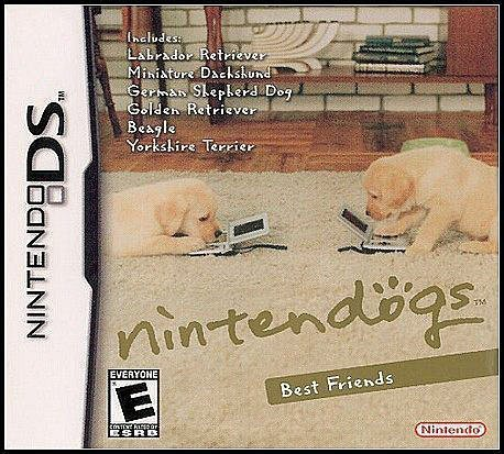NDS 全新美版【任天狗 Best Friends】《拉布拉多、德國牧羊犬、米格魯、黃金獵犬、約克夏》