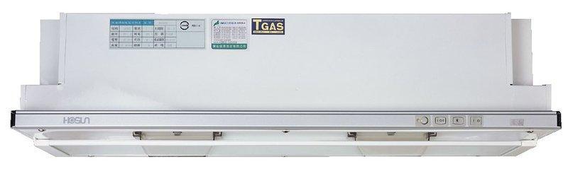 【 阿原水電倉庫 】豪山牌VEA-9019PH超薄靜音隱藏式電熱除油煙機90公分