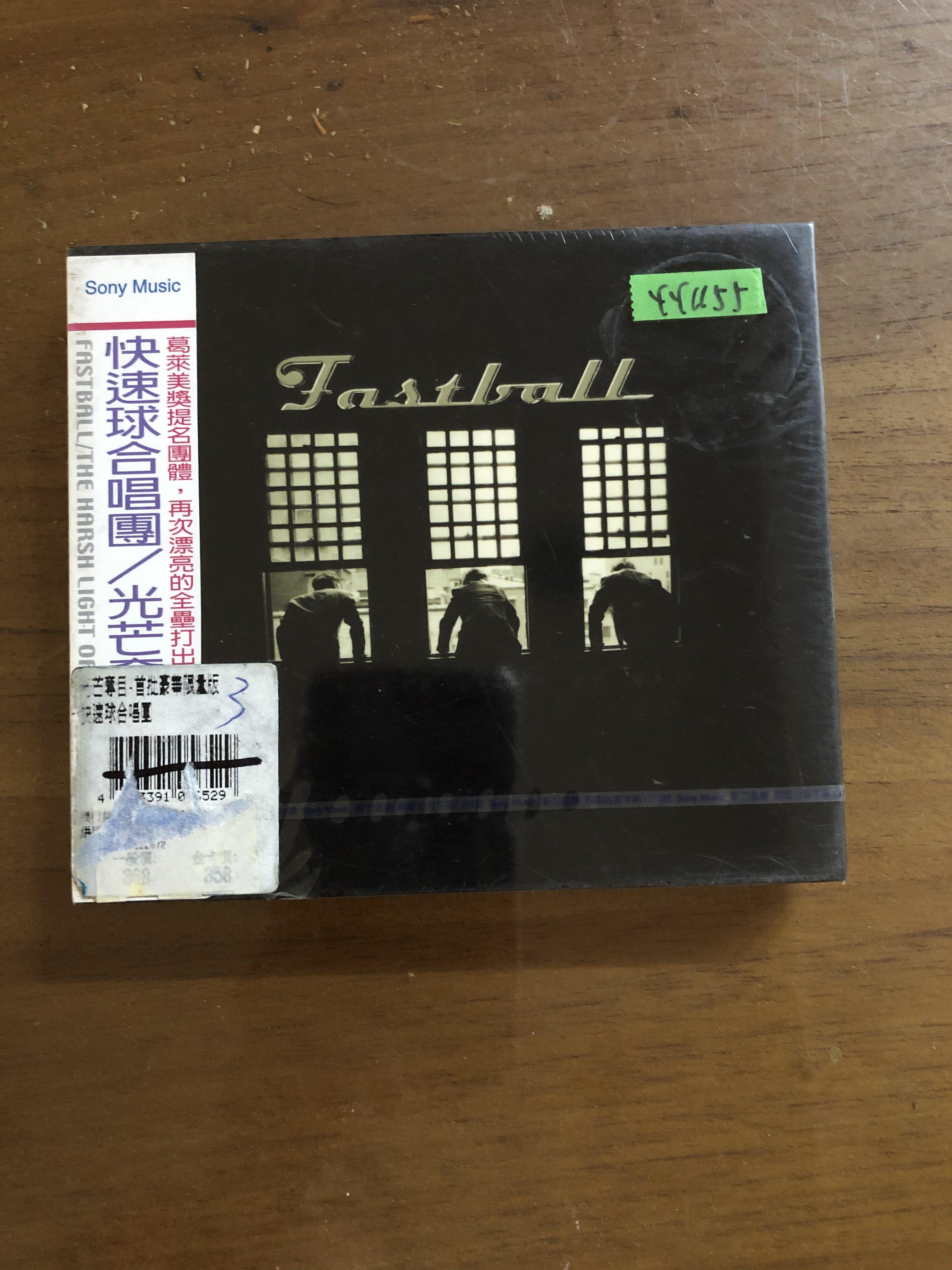 *還有唱片三館*FASTBALL / THE HARSH LIGHT 全新 YY1155 (需競標)