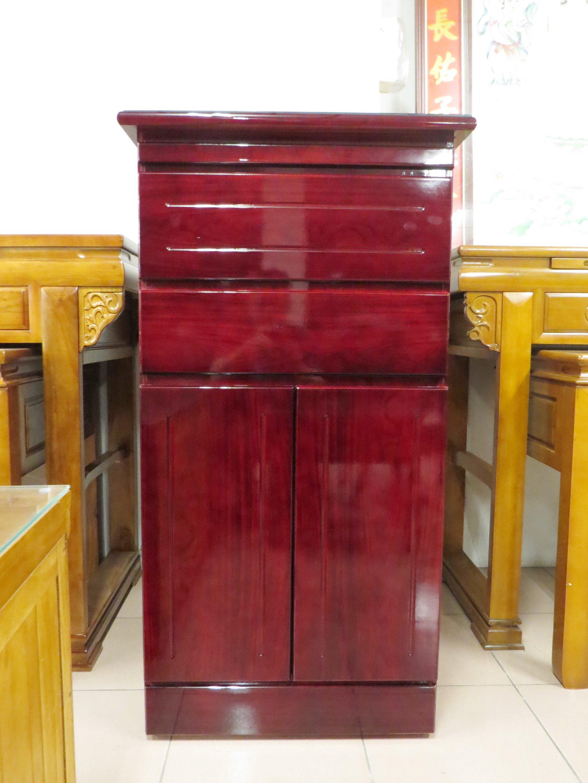 光南家具-2.2尺公媽桌、神桌(夾板款)