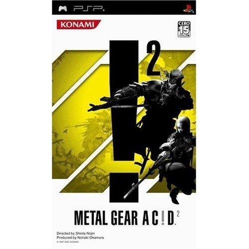 {藤井小舖}潛龍諜影 ACID 2 初回版 (METAL GEAR AC!D 2) PSP純日版 二手品