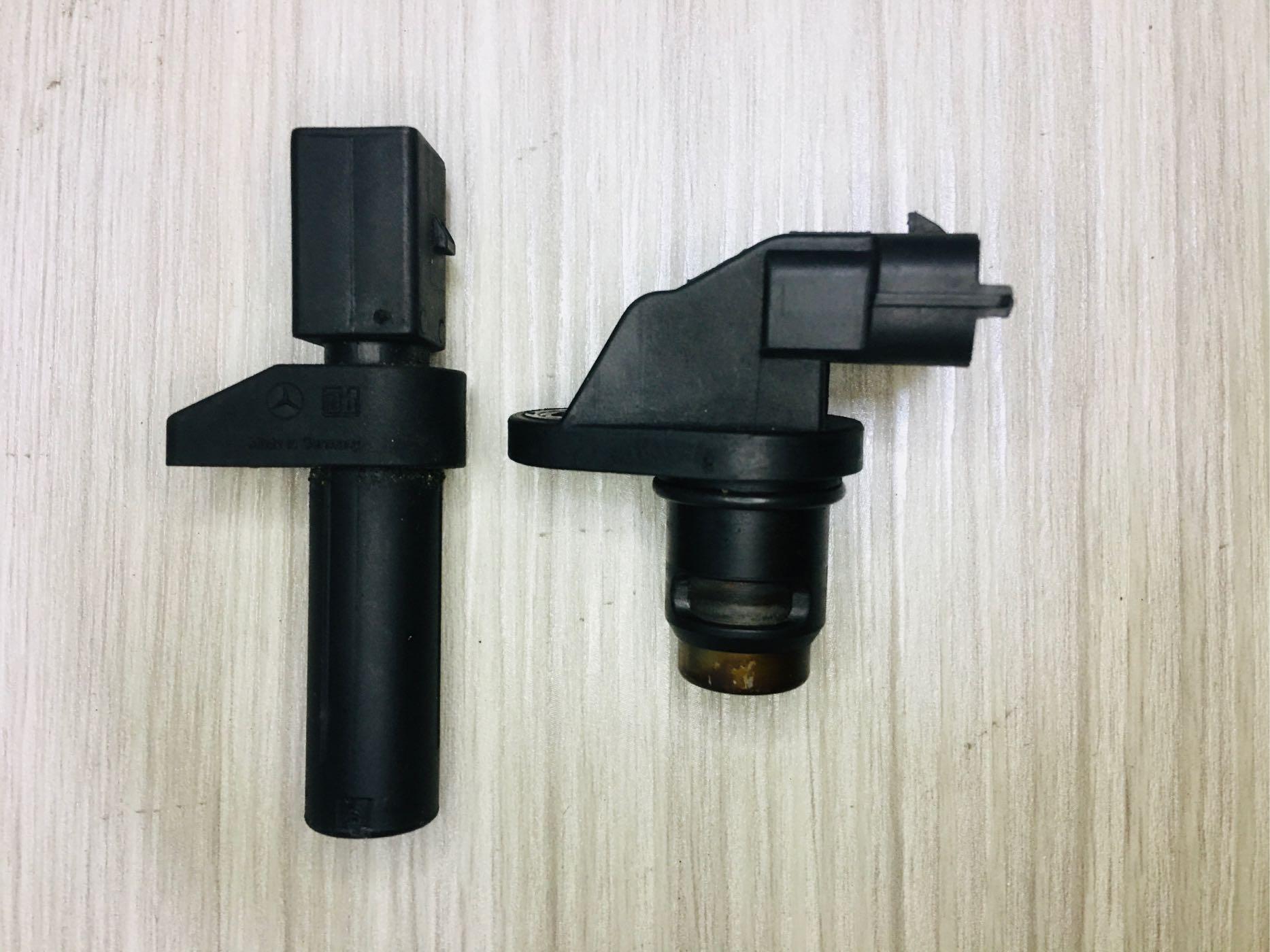 BENZ 曲軸感知器 凸輪軸 W163 W202 W204 W210 W211 W220 8成新 正原廠