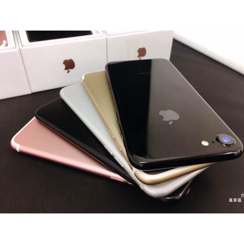 免運 實體店面  iPhone7 iphone 7 5.5吋 Plus 128G 另有 32G i8 64G 256G SE 5s i6 6s二手機
