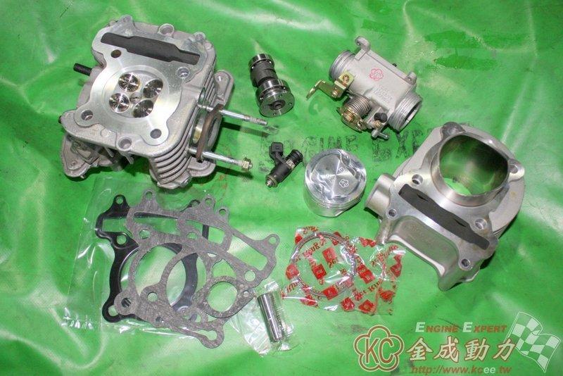 魅力MANY/VJR=LKC/LEA改58.5~61缸+原廠缸頭加大汽門+高凸+噴油嘴+節流閥流量設定139~151c