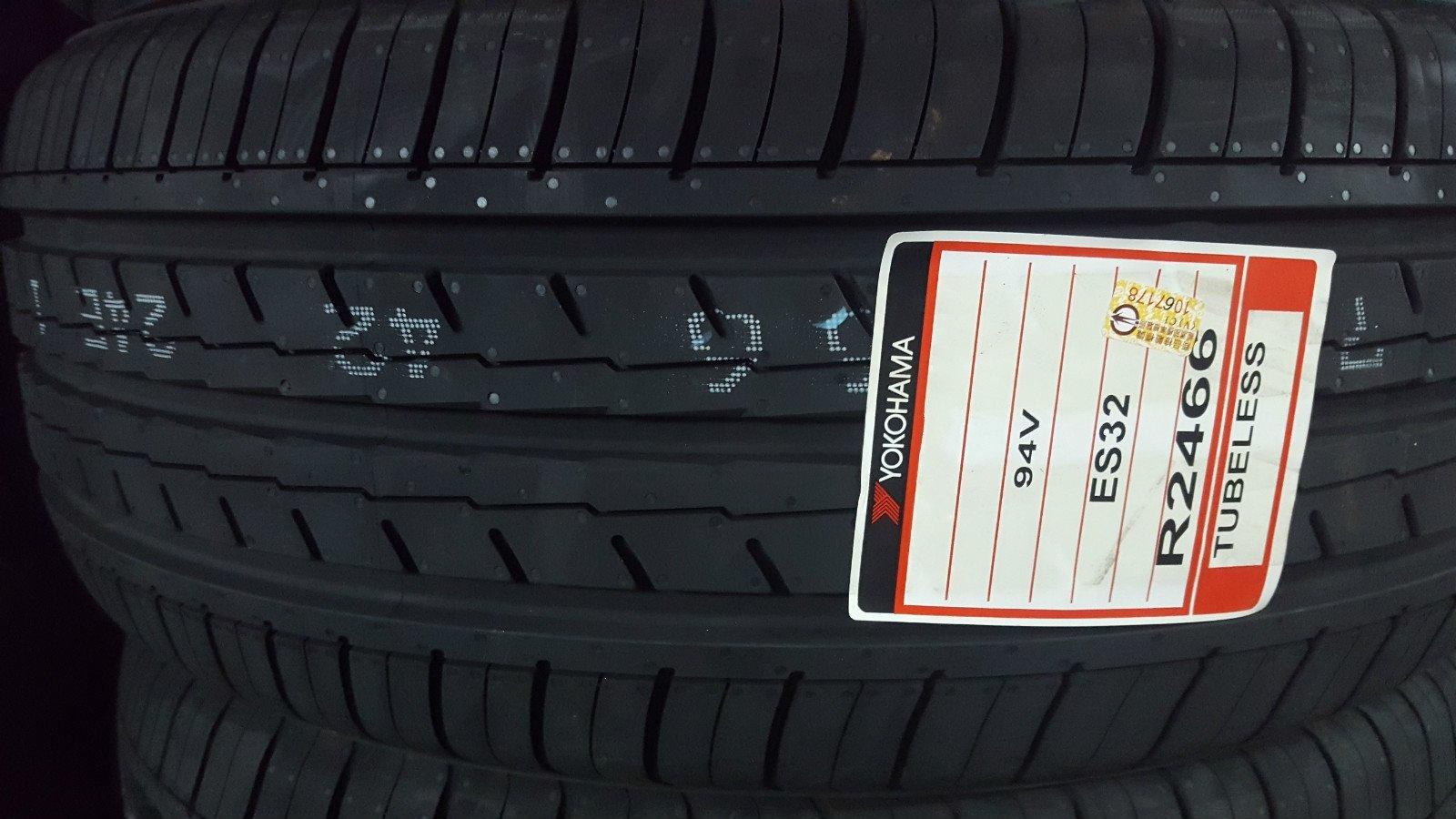 +超鑫輪胎鋁圈+ YOKOHAMA 橫濱 ES32 ES-32  205/55-16 另有 ZSR DRB N8000