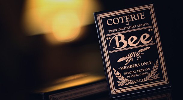 【USPCC撲克】Coterie Bee playing cards 1902 蜜蜂撲克