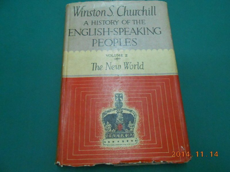 《HISTORY OF THE ENGLISH-SPEAKING PEOPLES VOLUME II》七成新 精裝本