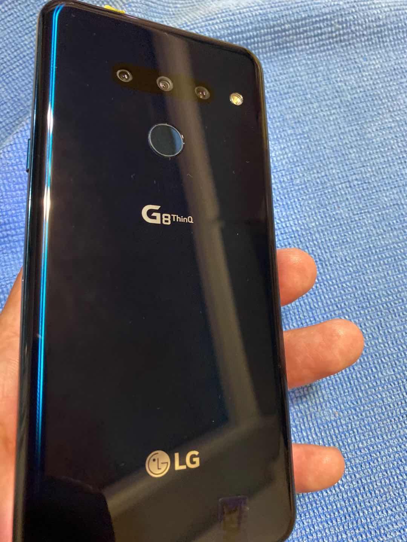 LG G8 ThinQ 6G/128G美版現貨 黑色 小黑点3K 屏+3鏡頭
