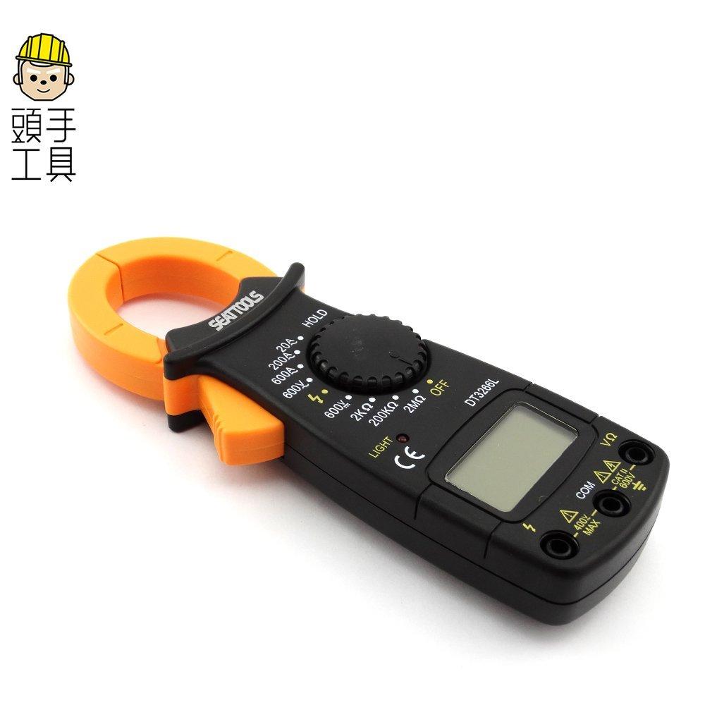 非接觸測量 資料保持 防燒保護 萬用鉤錶 數字交流鉤表