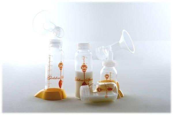 ╭☆金湯匙*╮ 口徑金湯匙玻璃奶瓶B組母乳儲存瓶含 買10送2