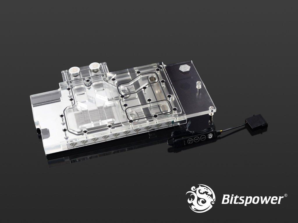 小白的生活工場*Bitspower MSI GTX 1080Ti GAMING X Acrylic (Clear) (B