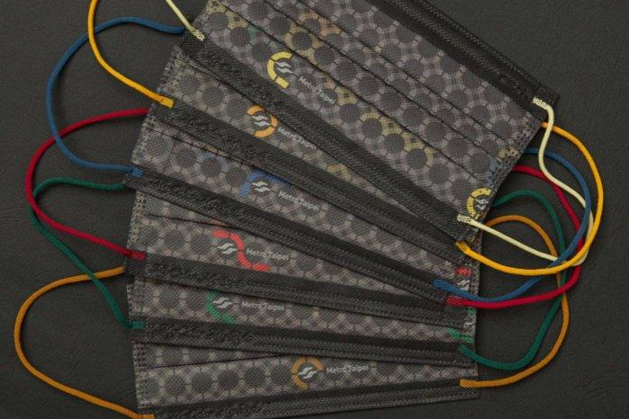現貨- Porter &中衛 聯名口罩現貨- Porte中衛 台北捷運25週年 X CSD 紀念款 聯名口罩 六色一組