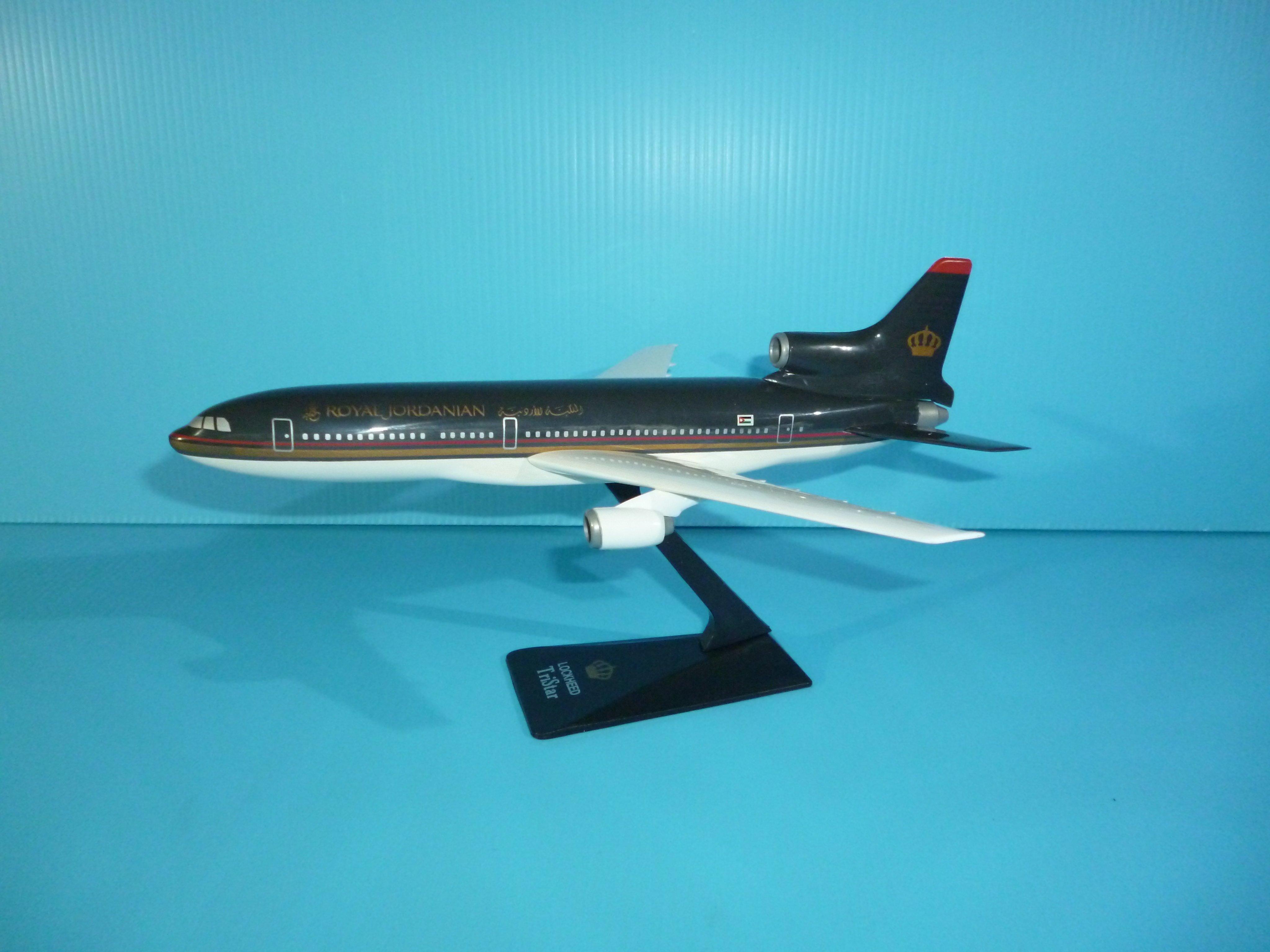 珍上飛模型飛機:L-1011 (1:250) 約旦(編號:L101110)