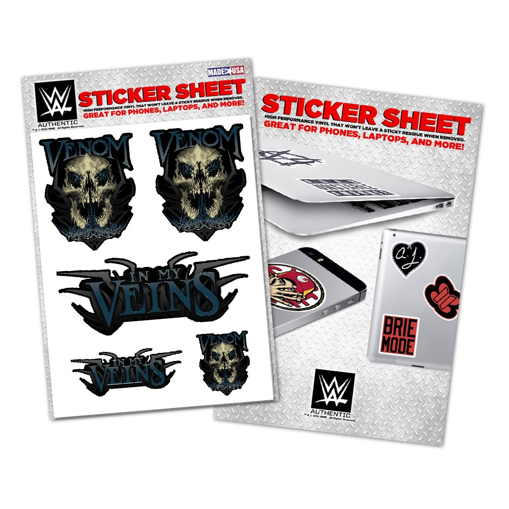 [美國瘋潮] WWE Randy Orton Vinyl Sticker 毒蛇RKO 款圖案貼紙 中