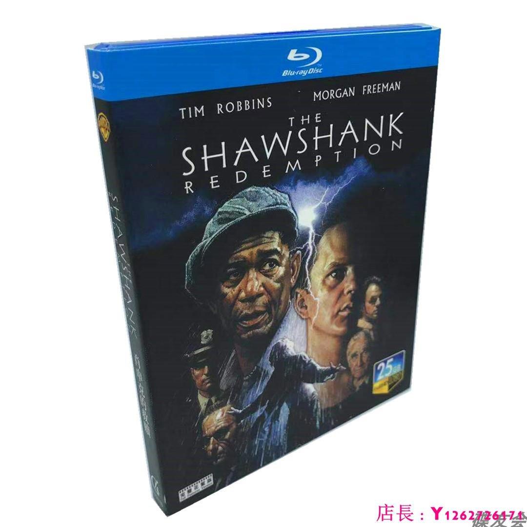 藍光光碟/BD 肖申克的救贖刺激1995經典劇情犯罪電影高清1080P完整版 繁體中字 全新盒裝