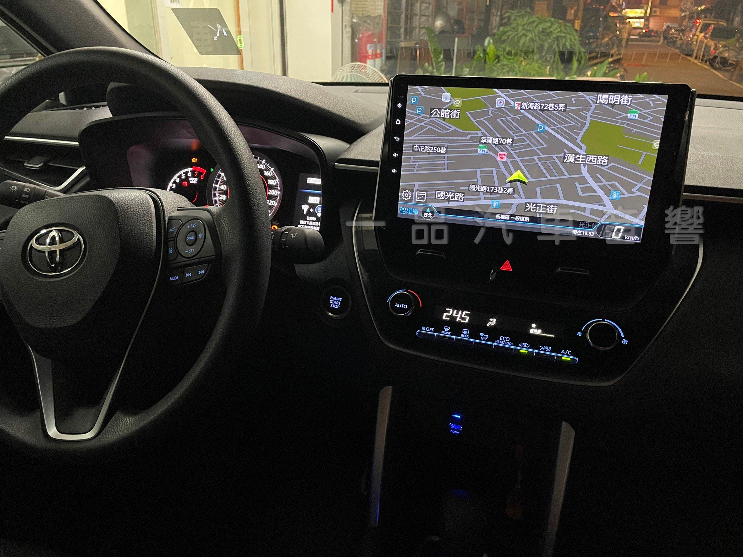 一品 TOYOTA COROLLA CROSS 專用10吋安卓主機 8核心 正版導航 網路電視 CarPlay 3D環景