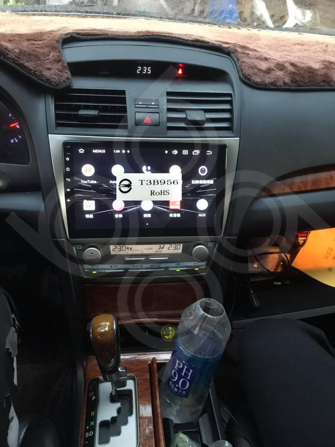 Toyota camry 10吋安卓專用機+360度環景.九九汽車音響公司貨保固一年