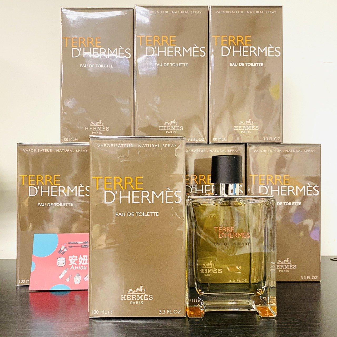 《小平頭香水店》Hermes Terre DHermes 愛馬仕 大地 男性淡香水 50ML