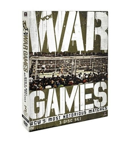 ☆阿Su倉庫☆WWE摔角 WCW War Games: WCW's Most Notorious Matches DVD WCW戰爭遊戲精選專輯