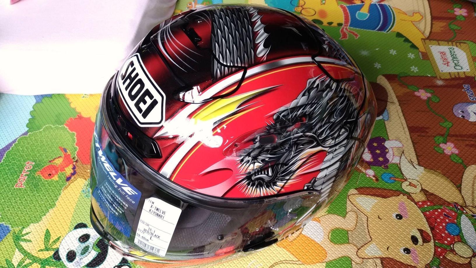 可分期 絕版帽 SHOEI Kiyonari清成龍一 X12 全罩式安全帽 X-12 非Arai X14 z7 rx7x agv shark k3 k5 k8