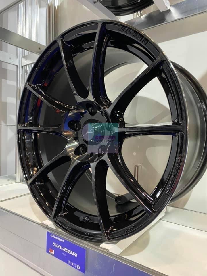 超鑫鋁圈 Wedssport SA25R 18吋旋壓鋁圈 5孔100 5孔108 5孔112 5孔114 僅有8.1KG
