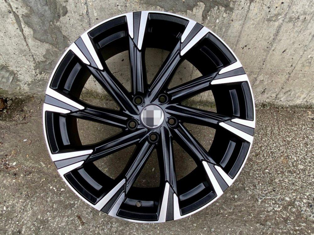 【超前輪業】1777 全新鋁圈 19吋鋁圈 5孔114.3 平光黑車面 CRV RAV4 CX5