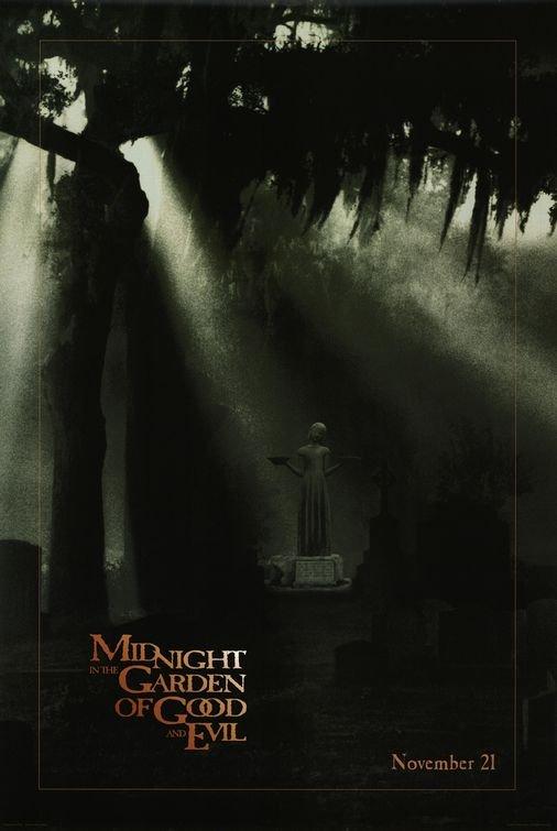 熱天午夜之慾望地帶-Midnight In The Garden Of Good And Evil (1997)預告版 電影海報